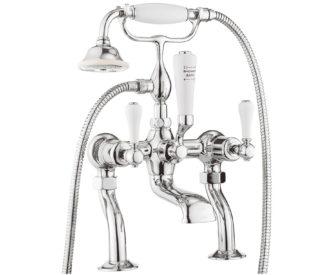 Belgravia Lever Bath Shower Mixer With Kit -0