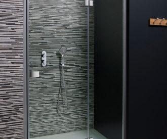 Design Hinged Door with Inline Panel-0