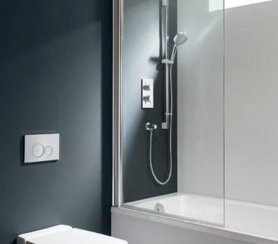 Design Single Bath Screen -0