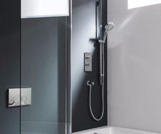 Design Single Bath Screen -1772