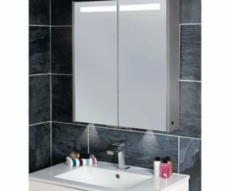 Mercury Mirrored Cabinet (2 Sizes Available)-3914