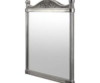 Brushed 550 Aluminium Frame Mirror-0
