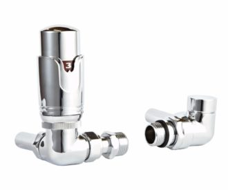 Corner Thermostatic Radiator Valve-0