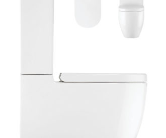Stream II Close Coupled WC & Soft Close Seat -0