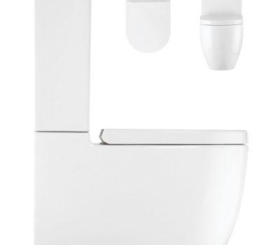 Stream II Close Coupled WC & Soft Close Seat -0