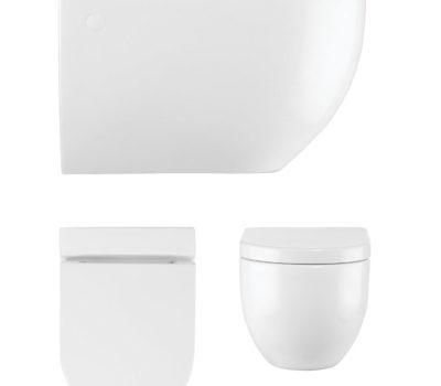 Stream II Wall Hung WC & Soft Close Seat -0