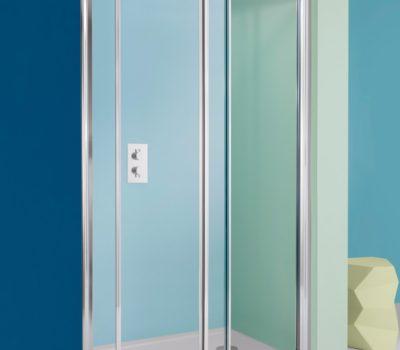 Supreme Single Slider Shower Door (1000-1400mm)-0