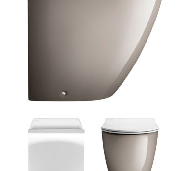 Svelte Platinum Back to Wall WC & Soft Close Seat -0