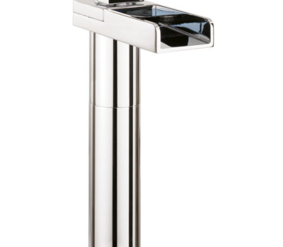 Water Square Lights Basin Tall Monobloc With Lights -0