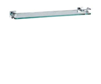 Zeya Glass Shelf With Rail -0
