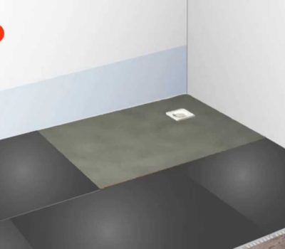 Baseboard Formed Wetroom Tray 1800X900 -0
