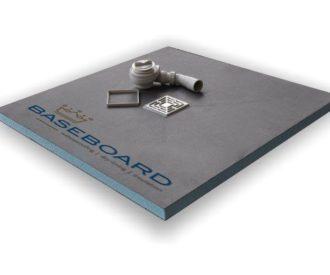 Baseboard Wetroom Tray 900X900 -0