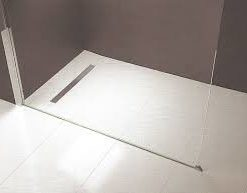 Baseboard Wetroom Tray with Linear Waste 1500X900-0