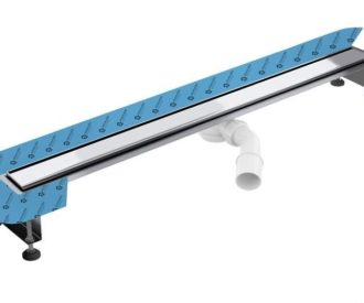 Wetroom Linear Drain Including Trap 600mm-2989