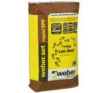 Weber Rapid Set SPF Flexible Adhesive White 20KG-0