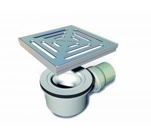 Wetroom Floor Square Drain -0