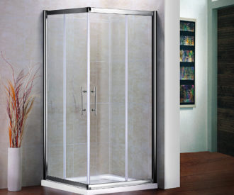 Air Corner Entry Shower Door-0