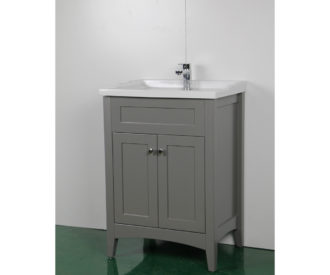 Appleby 600 Matte Grey Unit & Basin-0