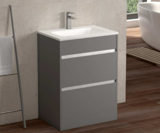 Skylar Floor-standing Unit Matte Grey-0