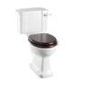 Kensington WC with Lever Flush & Seat-0
