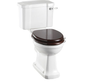 Kensington WC with Lever Flush & Seat-0