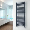 Roma Anthracite Towel Warmer-0