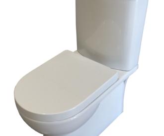 Sara Toilet Pan, Cistern Inc. Fittings & Seat-0