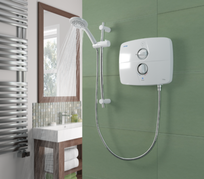 T901SR Pumped Electric Shower-0