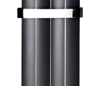 City Vertical 4 Panel Aluminium Radiator Anthracite-0