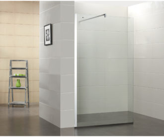 WR 8mm Wetroom Panel -0