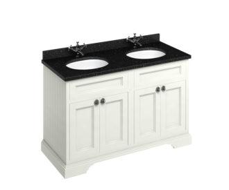Freestanding 1300 Sand Unit & Double Vanity Bowl with Doors-3653