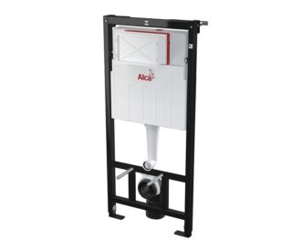 Alcaplast 1120 Wall Hung Toilet Frame & Concealed Cistern-0