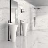 Selecta Carrara White Plus 120X40 (1.44M2)-0
