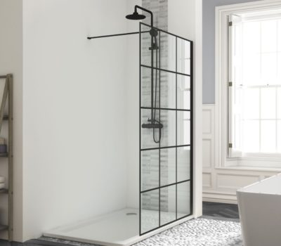 BE FRAMED EFFECT WETROOM PANEL-0