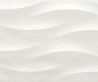 Ness White Waves Decor 75x25 (1.32M2)-4330