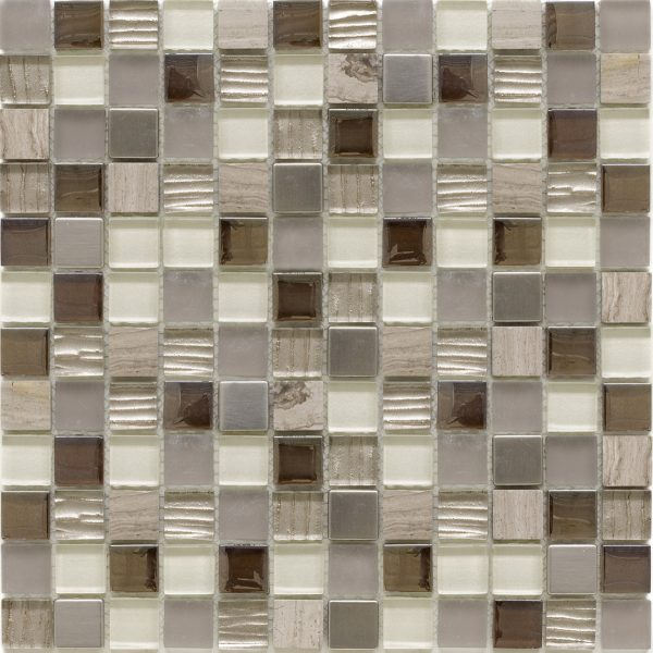 SALERNO BEIGE 2.3X2.3(sheet) - City Tiles & Bathrooms