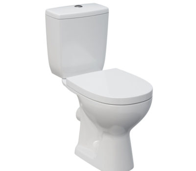 ARTECA OPEN BACK TOILET PAN, CISTERN AND SOFT CLOSE SEAT-0