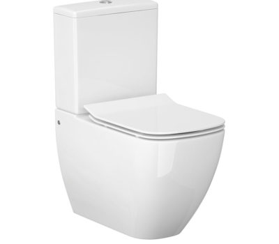 METRO FULLY BACK TO WALL WC INC. CISTERN AND SOFT CLOSE SEAT-0