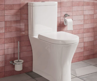 PRESTON FULLY BTW TOILET PAN, CISTERN & SOFT CLOSE SEAT-0