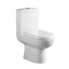 REFINE OPEN BACK TOILET PAN, CISTERN AND SOFT CLOSE SEAT-0